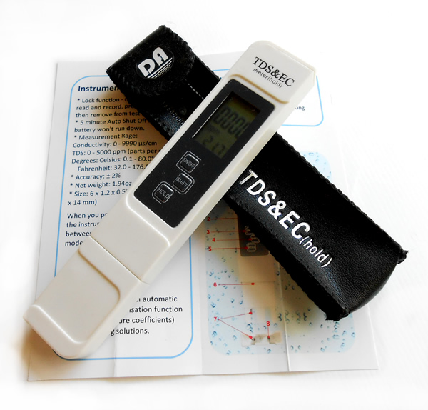 Penggunaan TDS EC Meter