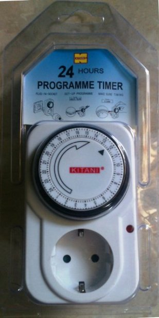Cara Setting Timer Analog (manual)