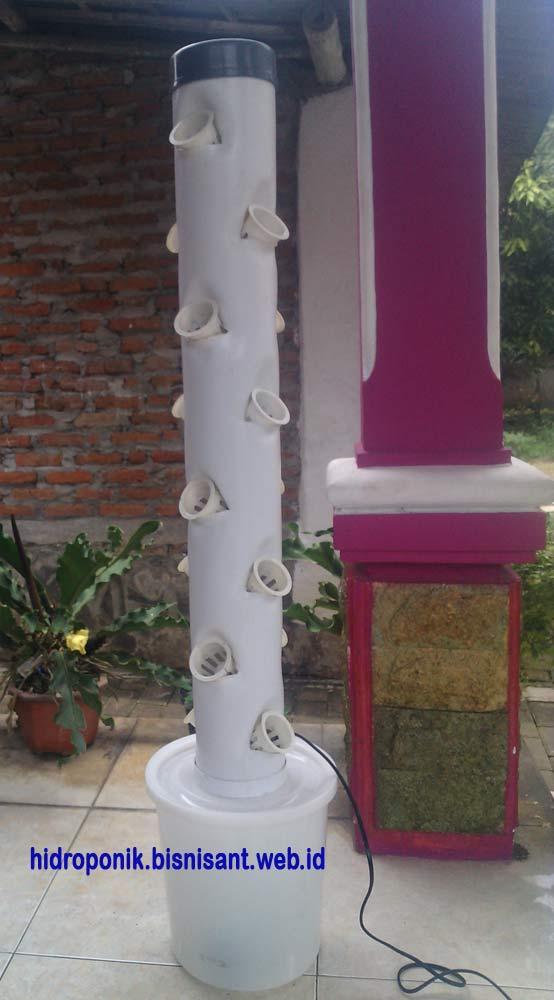 Hidroponik Vertical Tower