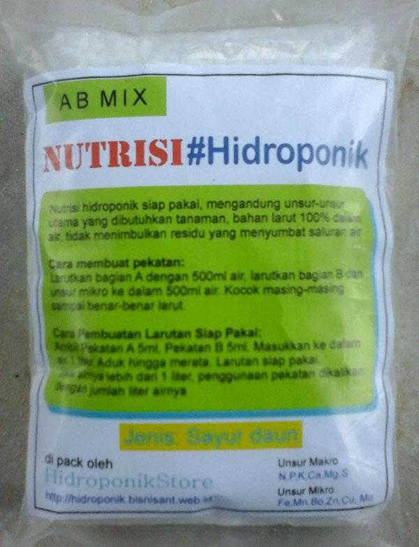 Apa Warna Standar Cairan Nutrisi AB Mix?